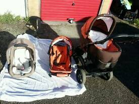 Baby pushchair, travel system. Good condition.
