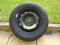 Ford Fiesta spare wheel and jack