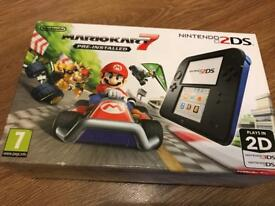 Brand new 2DS with Mario Kart