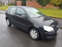 2009 VW POLO LOW MILEAGE FOR SALE