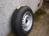 Brand New Spare Wheel for Caravan