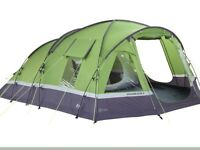 Voyager Elite 6 Tent with Porch, Footprint, Carpet and Mobile Mains Kit - as New