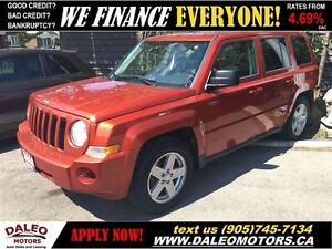 2010 Jeep Patriot Sport/North 1 OWNER LEASES AVAILABLE