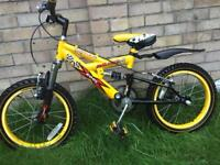 Childs bike 14 inch wheels
