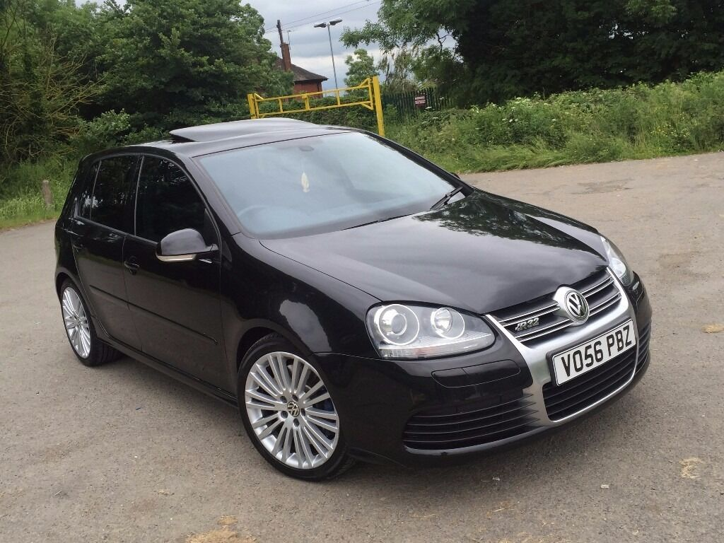 Vw Golf Mk5 R32 Dsg Black V6 Auto 5 Door 4 Motion Fully