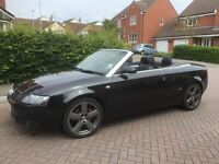 Audi A4 convertible S-Line