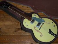 Gretsch USA Double Anniversary 1967 hollowbody two tone green with original case