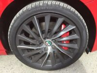 "Alfa Romeo Guiletta 18"" turbine alloy wheels"