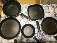 Tefal frying pan bundle