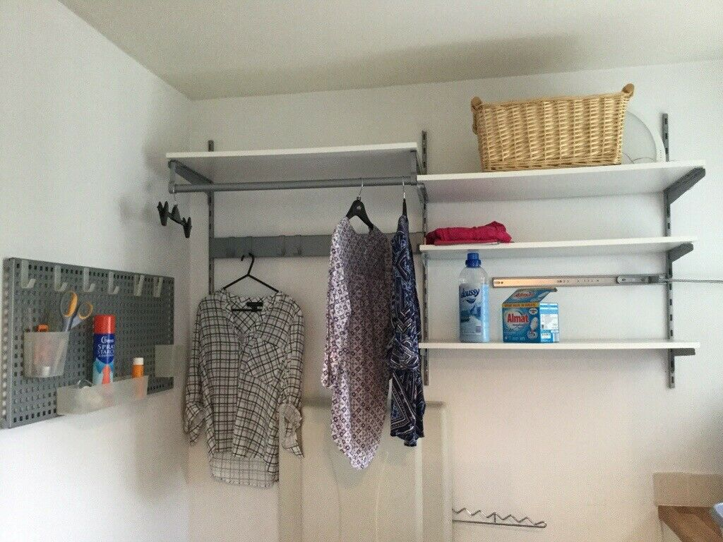 watch 2cf5e c596e Bargain £50 Wall Mounted Folding Ironing Board & IKEA Shelving System | in  Cameron Toll, Edinburgh | Gumtree
