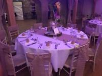 Sashes and table runners