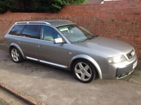 AUDI A6 ALLROAD V6 TDi QUATTRO AUTOMATIC, TOP SPEC WITH WIDE ARCH KIT, DVD PLAYER & FULL LEATHER