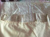 Magnolia Mothercare curtains.