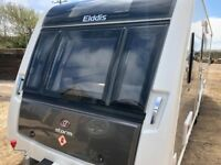 2016 Elddis Crusader Storm twin axel touring caravan for sale with awning and many optional extras