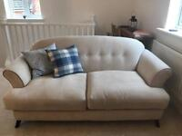 Cream Sofa & Chair