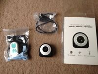 HD lifestyle action camera with remote and box