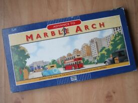 VINTAGE BOARD GAME: Advance to Marble Arch by Parker (1985)