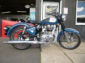 Brand New - Royal Enfield Classic 500 EFI - £4499. Finance subject to status. 2 Yrs Full warranty.