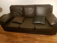 Nearly new sofas for immediate sale