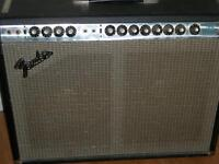 Fender Twin Reverb, early 70's Silverface Master Volume