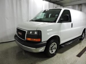 2015 GMC SAVANA CARGO 2500 COURT,AUTO,AIR,V8,CLOISON