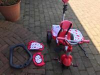 Little trike red 3in 1