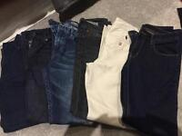6 pairs of boys jeans - all excellent condition