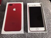 Apple iPhone 7 Plus in Red - 128GB - Unlocked - Swap For a Nintendo Switch + Premium Phone