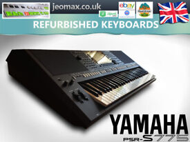 """Yamaha PSR-S775 (2018 model) + stand + notes rest :: WARRANTY """""""" see video"""
