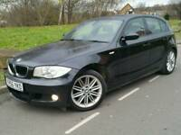 2006 56 BMW 118D M SPORT*LEATHER*P/SENSORS*CHEAP TAX+INSUR*#AUDI#GOLF#SEAT