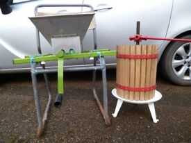 Apple Scratter and Apple Press