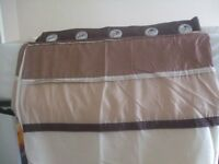 Pair thermal lined curtains from Dunelm