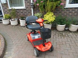 Kymco heavy duty car boot mobility scooter