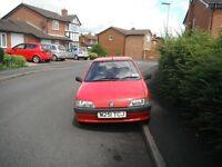 Peugeot 106 inca hatchback,1995,genuine 39000 miles,one prev lady owner,new mot,s/h / mot history ,