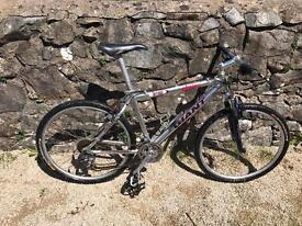 Men's giant mountain bike front suspension