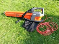 Flymo Garden Vac, good working order with support strap