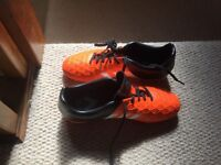 Adidas size 5.5 football boots worn once