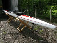 Wintech explorer 21. rowing scull.