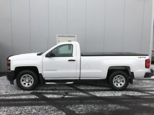 2014 CHEVROLET SILVERADO 1500 4WD REGULAR CAB