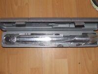 Clarke Torque wrench,unused