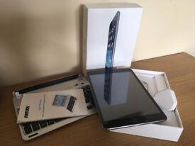 iPad Mini 1 16GB with Arteck Bluetooth keyboard.