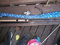 Daiwa z match rod reel and more