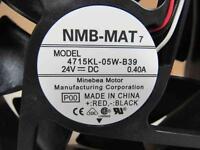 NMB-MAT COOLING FAN 4715KL-05W-B39 4715KL05WB39 24V DC 0.40A 0.40 AMP A.....NEW
