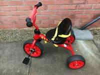 Monster truck Child's bike trike