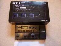 Boss GT-1 GUITAR EFFECTS PROCESSER WITH MANUAL