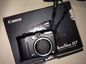 Canon Poweshot G7 camera
