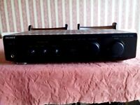Sony Integrated Stereo Amplifier Model TA-FE210