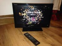 "Sony Bravia 19"" LCD Widescreen TV and Sony DVD Player"