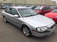 2003 Volvo S80 Auto. Drives as new. Mot. Tax. Leather. Alloys. Satnav. Warranty