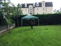 3m x 3m pop up gazebo marquee outdoor shelter